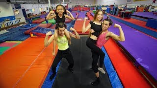 Download GIRLFRIEND vs. LITTLE SISTER GYMNASTICS! Video