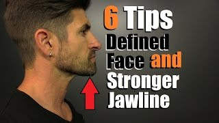 Download 6 Tips For A MORE Defined Face, STRONGER Jawline & Reducing Chubby Cheeks Video