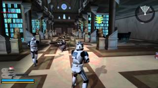 Download Star Wars Battlefront 2 Gameplay 5 Coruscant - Knightfall ( Jedi temple order 66 ) Video