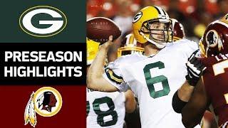 Download Packers vs. Redskins | NFL Preseason Week 2 Game Highlights Video