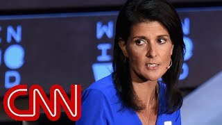 Download Nikki Haley booed over Russia answer Video