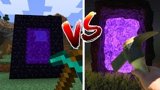 Download MINECRAFT vs REAL LIFE Video