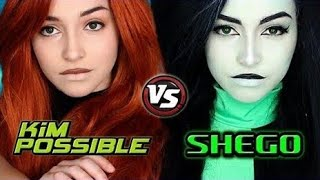 Download Kim Possible Live-Action | Kim and Shego Makeup Tutorial Video