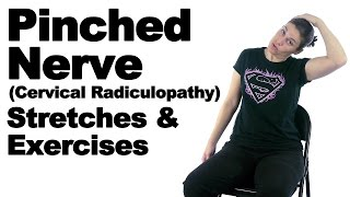 Download Pinched Nerve (Cervical Radiculopathy) Stretches & Exercises - Ask Doctor Jo Video