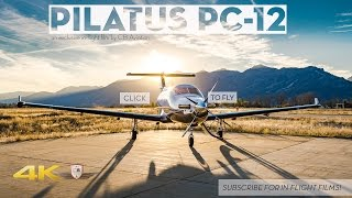 Download Pilatus PC-12 The Ultimate Single Engine Flight Tour! Video