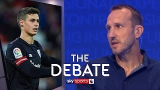 Download Is Kepa an upgrade on Courtois for Chelsea? | Schwarzer, Upson & Hayes | The Debate Video