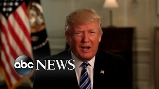 Download President Trump's first 100 days met by praise and protests Video