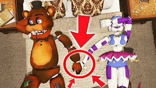 CAN WITHERED FREDDY SAVE HIS GF? (GTA 5 Mods FNAF RedHatter) Free