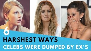 Download 6 Harshest Ways Celebs Have Been Dumped By Exes! | Hollywire Video