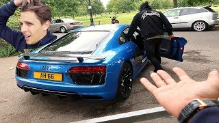 Download HE TOOK MY R8 AND BROKE IT!! Video