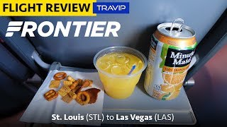 Download Frontier Airlines Review: St. Louis to Las Vegas | Travip Flight Review Video