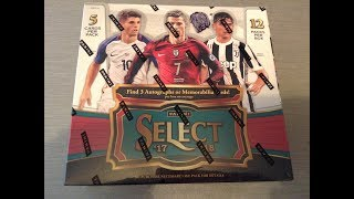 Download PANINI SELECT SOCCER 17/18 ***FULL BOX/3 HITS*** Video