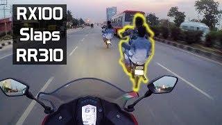 Download RX100 Meets RR310 || RX100 WHEELIE Video