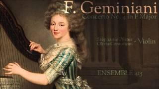 Download Geminiani - Concerto No.4 in F Major Video