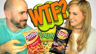 Download Irish People Try American Chips - Crisps For the First Time Video