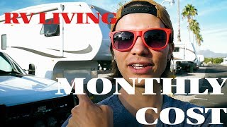 Download How much does LIVING in an RV cost? | AVERAGE Month Video