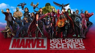 Download All The Marvel Cinematic Post-Credits Scenes Compilation (2008-2017) Video