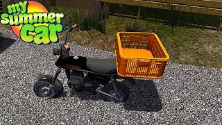 I TOOK the WHEELS FROM the YELLOW CAR - My Summer Car Story