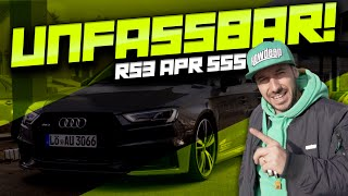 Download HOW DEEP? // UNFASSBAR - AUDI RS3 APR 555 Video