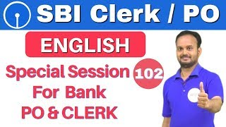 Download 1:00 PM English Dose by Sanjeev Sir| Special Session For Bank PO & CLERK |अबकी बार SBI पार| Day#102 Video