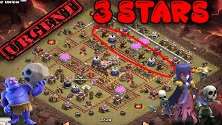 Download *MUST WATCH* THE ANSWER TO BEATING ANTI AIR BASES, MAX TOWN HALL 11 (TH11) ANTI 3 STAR Video