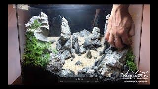 Download Aquarium decoration : Reproduction de Port Coton en Aquascaping Video