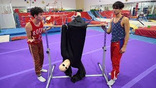 Download GYMNASTICS WITH SCARY MONSTER! Video