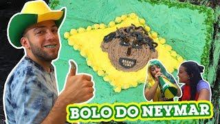 Download FIZEMOS UM BOLO GIGANTE COM A CARA DO NEYMAR!! Video