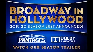 Download Announcing BROADWAY IN HOLLYWOOD - The 2019-20 Season Video