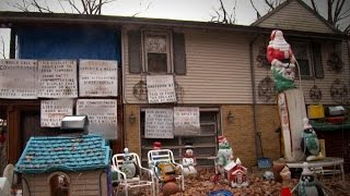 Download Homeowners Feel Trapped by Neighbor's Hostile Holiday Display Video