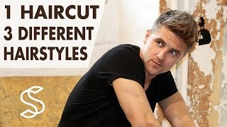 Download 3 Hairstyles in 1 Haircut ★ Men's short hair ★ Professional hair inspiration Video