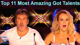 Download All 11 Best Got Talent Auditions! Top Golden Buzzer Worldwide! AGT! BGT! Video