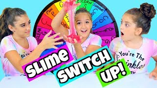 Download Mystery Wheel of Slime Switch Up Challenge! Video