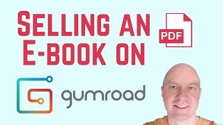 Download Sell A PDF E-Book On Gumroad And Link From Your Site, From Build A Sales Page Video
