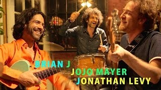 Download Jojo Mayer + Jonathan Levy- ″Steppin' Heavy″ -Jamming With J- Real Garage Jam- EP. 22 Video