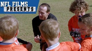 Download Drew Brees Loves His Second Job: Kids Flag Football Coach | NFL Films Presents Video