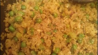 Download HOW TO MAKE GOBHI KI BHURJI WITH MATAR AND SPRING ONION Video