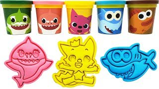 Download Play-Doh Baby Shark Toys Pinkfong Mainan dan lagu anak-anak 교육으로 동요와 아기의 노래를 Video