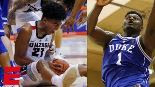 Download Gonzaga fends off Zion, Duke in thrilling Maui Invitational finish | College Basketball Highlights Video