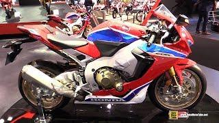 Download 2018 Honda CBR1000RR Fireblade SP2 - Walkaround - 2017 EICMA Milan Motorcycle Exhibition Video