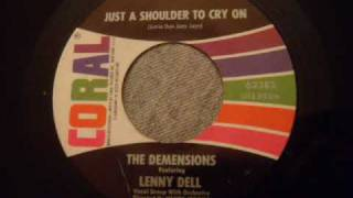 Download Demensions - Just A Shoulder To Cry On - Rare Doo Wop Ballad Video