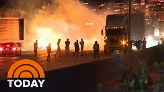 Download Protests Erupt In Charlotte After Police Fatally Shoot Keith Lamont Scott | TODAY Video