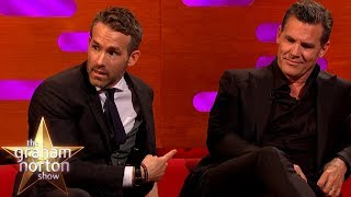 Download Ryan Reynolds Struggles With The Deadpool Suit | The Graham Norton Show Video