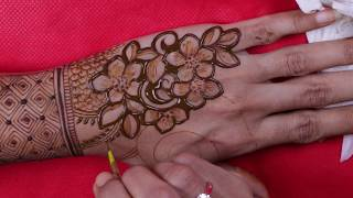 Download Mehndi designs for hands || Bridal mehendi || latest floral henna || 2019 Video