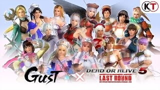Download DEAD OR ALIVE 5 LAST ROUND - GUST MASHUP COSTUME TRAILER Video