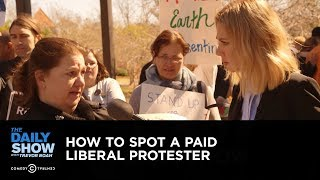 Download How to Spot a Paid Liberal Protester: The Daily Show Video