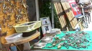 Download Paris Flea Market Tour Video