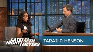 Download Taraji P. Henson on Improvising Cookie Lyon's Insults - Late Night with Seth Meyers Video