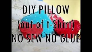 Download DIY PILLOW - NO SEW, NO GLUE Video