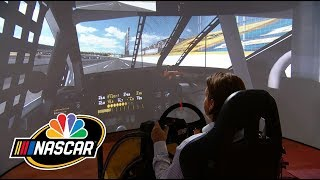 Download Simulating what it's like to race the Charlotte Roval I NASCAR I NBC Sports Video